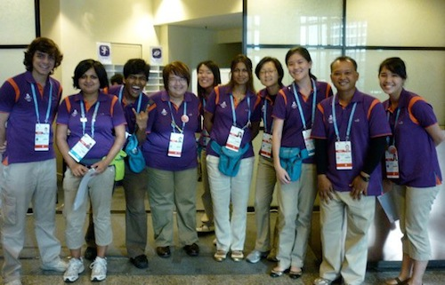The team at the International Convention Centre