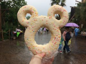 Grab a Mickey donut from Treasure Cove