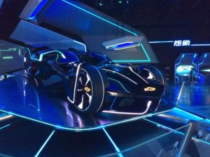 Admire a Tron-esque car or make your own digital car