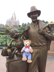 Say hi to Walt and Mickey